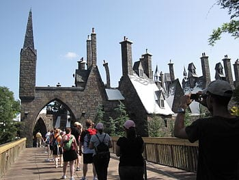 English: The Entrance of The Wizarding World o...