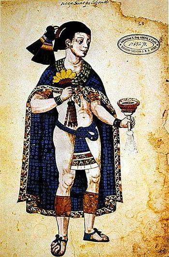 Nezahualpilli, ruler of Texcoco