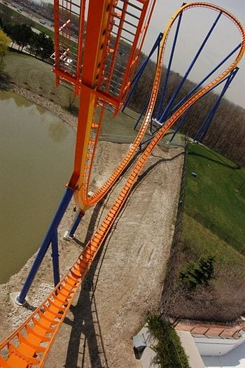 English: Behemoth , roller coaster at Canada's...