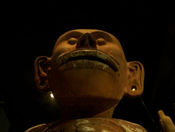 English: Statue of Mictlantecuhtli, Aztec god ...