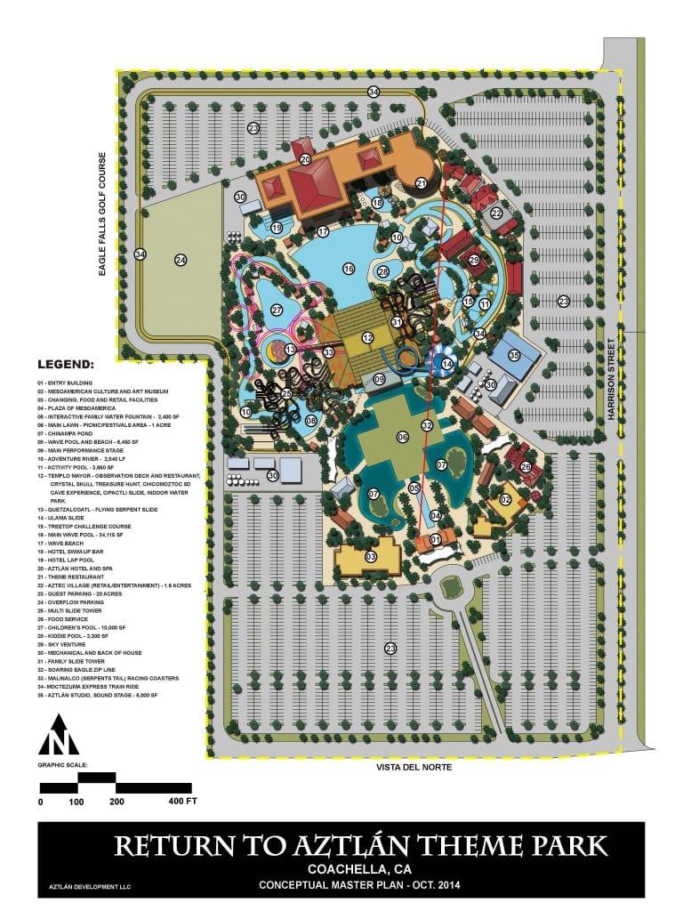 Aztlan Park Site PLan
