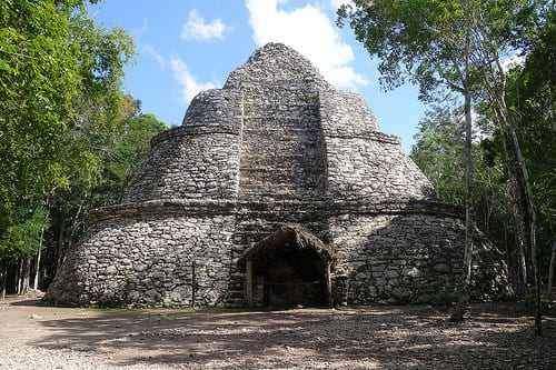 Mayan Ruins in Coba photo