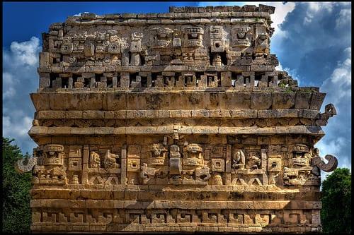 Maya temples photo