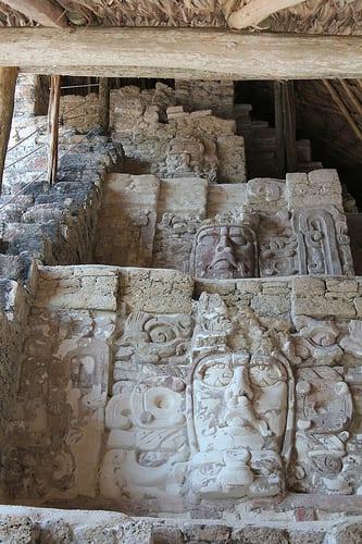 Mayan citadel photo