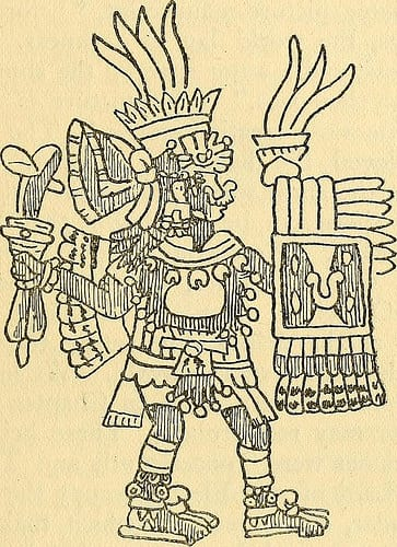 Aztec Creation Story photo