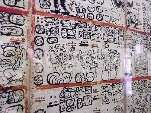 Mayan Codices photo
